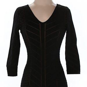 Fitted black Lauren Ralph Lauren dress